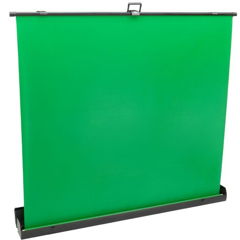 PrimeMatik - Collapsible chroma key screen panel. Green background for photography and video 140x200cm