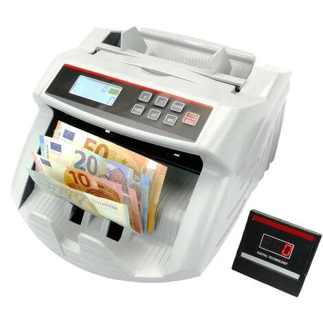 PrimeMatik - Compteur de billet avec détecteur du billet faux UV MG1 MG2