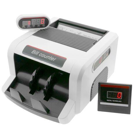 PrimeMatik - Compteur de billet avec double ecran et détecteur du billet faux UV MG1 MG2
