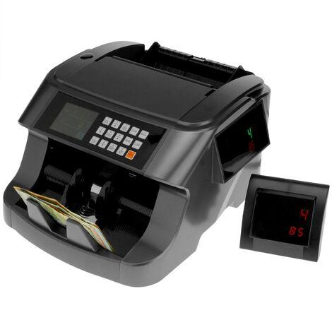 PrimeMatik - Compteur et totalisateur de billets et détecteur de contrefaçon IR MG MT UV RGB
