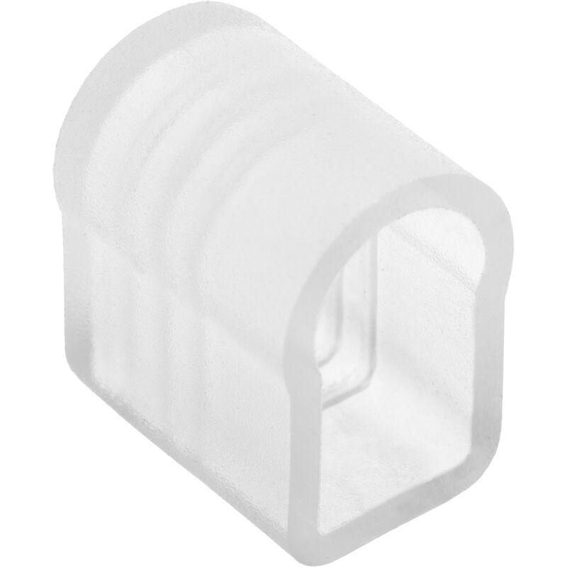 Coperchio terminale per LED Neon Flex LNF 2 pin 16x8mm - Primematik