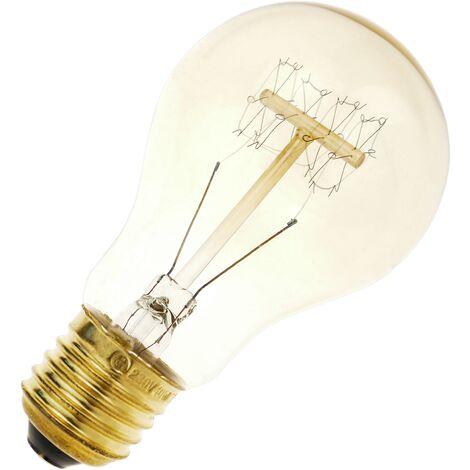 PrimeMatik - Edison Glühwendel Lampe E27 40W 220VAC 60 x 108 mm