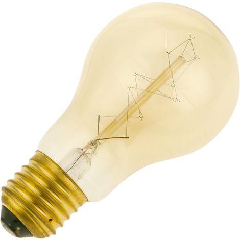 PrimeMatik - Edison Glühwendel Lampe E27 40W 220VAC 60x108mm