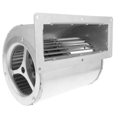 PrimeMatik - Extracteur d'air centrifuge radiale pour ventilation industrielle 1390 rpm rectangulaire 253x202x178