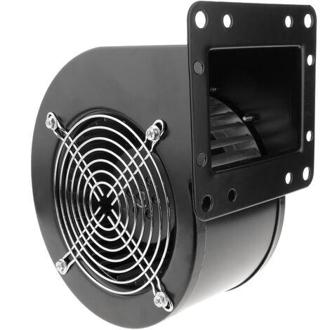 PrimeMatik - Extracteur d'air centrifuge radiale pour ventilation industrielle 2600 rpm carré 202x175x124 mm