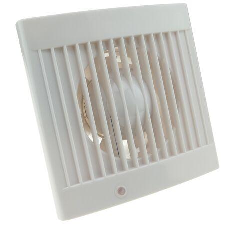 PrimeMatik - Extractor fan of 105mm diameter for cleaning bathroom storage room garage