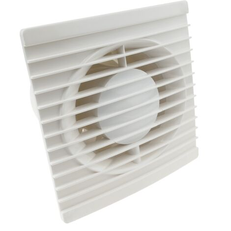 PrimeMatik - Extractor fan of 155mm diameter for cleaning bathroom storage room garage