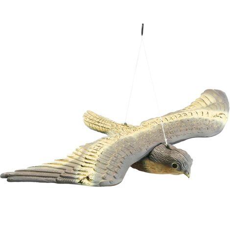 PrimeMatik - Faucon volant épouvantail 54x35 cm
