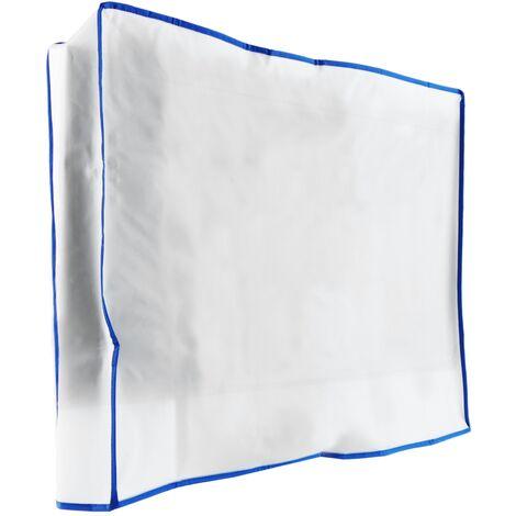 PrimeMatik - Funda cubierta protectora 65'' para pantalla plana monitor TV LCD 125x110x12cm