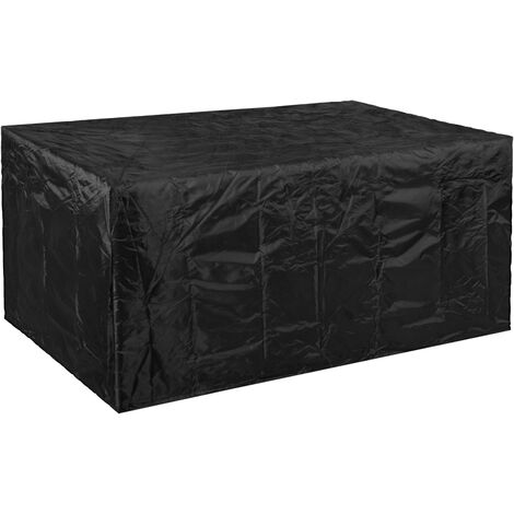 PrimeMatik - Funda protectora impermeable antipolvo para jardín exterior 242x100x162cm