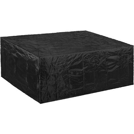 PrimeMatik - Funda protectora impermeable antipolvo para jardín exterior 250x90x250cm