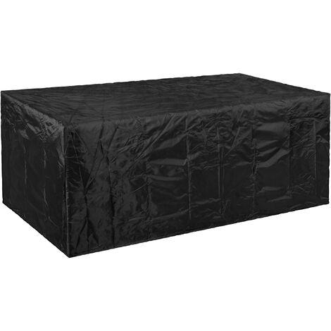 PrimeMatik - Funda protectora impermeable antipolvo para jardín exterior 270x89x180cm