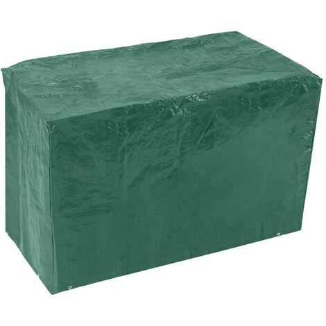 PrimeMatik - Funda protectora impermeable para balancín de jardín 200x170x155cm
