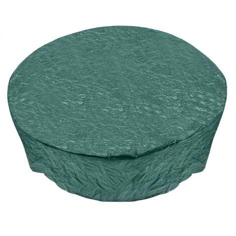 PrimeMatik - Funda protectora impermeable para mesa de jardín 163x84cm