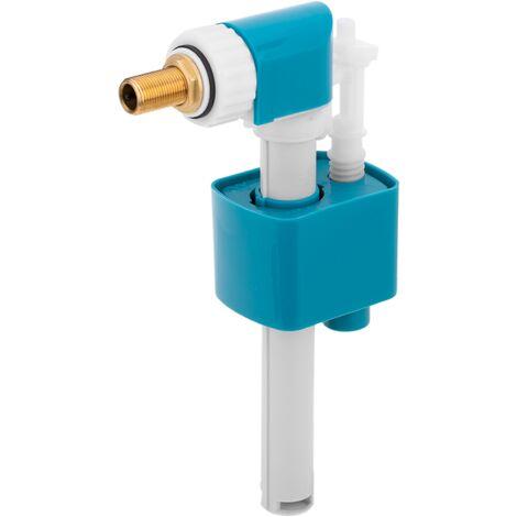 PrimeMatik - Grifo flotador compacto duo para cisterna WC
