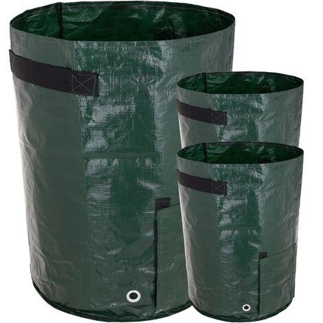 PrimeMatik - Grow bags for garden 35 x 50 cm 3 units