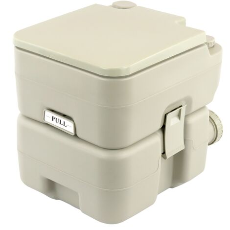 PrimeMatik - Inodoro WC portátil químico 20 L