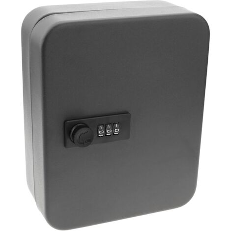 PrimeMatik - Key cabinet with 24 hooks and lock with 3-digit combination
