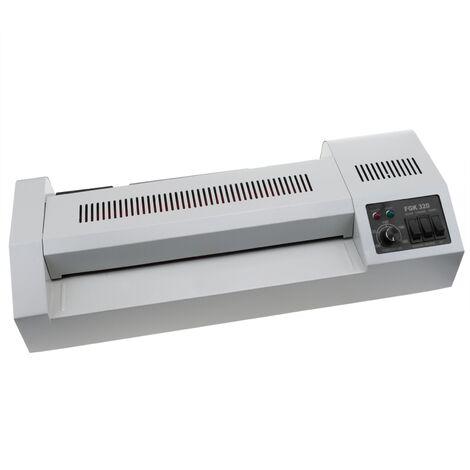 PrimeMatik - Laminateur thermique A3 Plastifieuse de document chaud et froid 620W