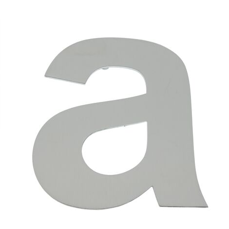 PrimeMatik - Letter A stainless steel 150mm marking