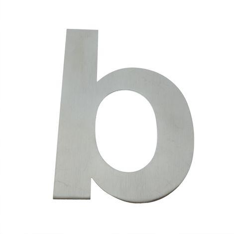 PrimeMatik - Letter B 150 mm stainless steel marking