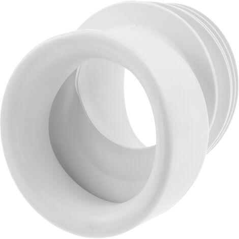 PrimeMatik - Manguito conexión inodoro excéntrico elástico ∅ 110mm