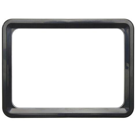 PrimeMatik - Marco para letreros y carteles A4 306x215mm negro para rotulación