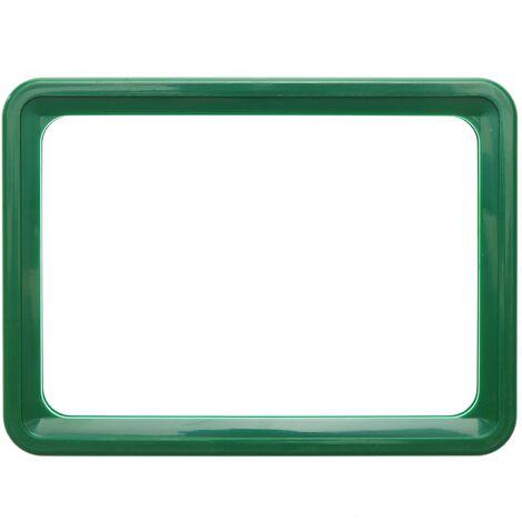 PrimeMatik - Marco para letreros y carteles A4 306x215mm verde para rotulación