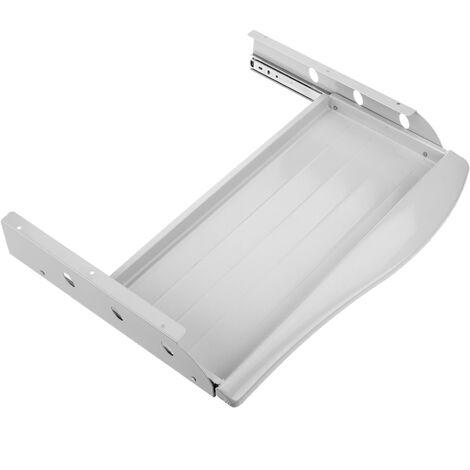 PrimeMatik - Metall herausnehmbare Tastaturablage für Schreibtisch