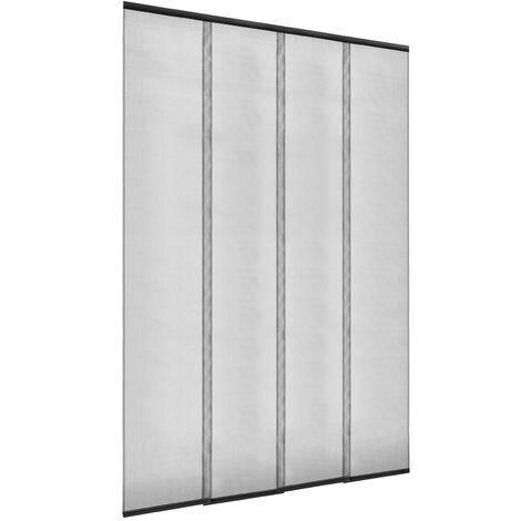 PrimeMatik - Mosquitera para puerta max 100 x 220 cm cortina de paneles