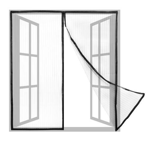 PrimeMatik - Mosquitera para ventana 130 x 150 cm con cierre magnético