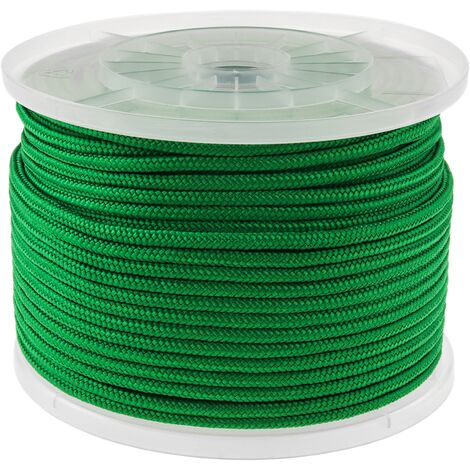 PrimeMatik - Multifilament PP braided rope 100 m x 6 mm green