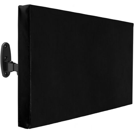 """PrimeMatik - Outdoor Protective cover for flat screen monitor TV LCD 22-24"""" 61x48x13 cm"""
