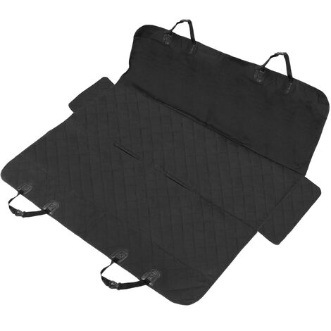 PrimeMatik - Padded car seat cover. Nonslip protective mat cover for dog hair and pet 137 x 147 cm