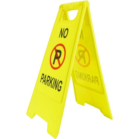 PrimeMatik - Panneau de stationnement interdit. Pliable et portable