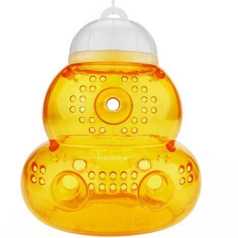 PrimeMatik - Piège pour attraper les guêpes les abeilles et les mouches en forme de ruche