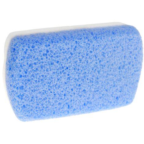 PrimeMatik - Pierre ponce pour le nettoyer et le polissage. Barre double face pour callosités 100 x 50 x 20 mm