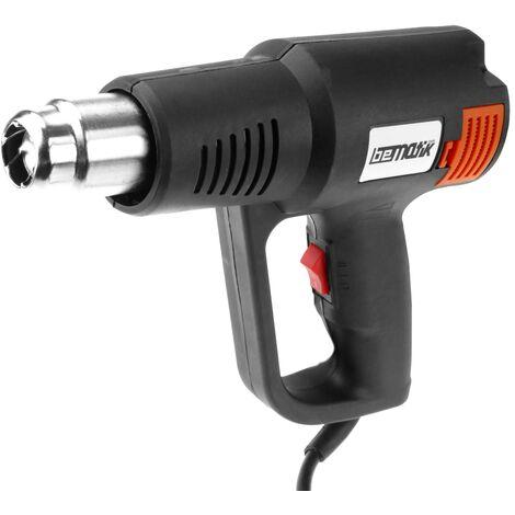 PrimeMatik - Pistolet à air chaud de 2000 W pour le décapage. Décapeur thermique à 2 vitesses