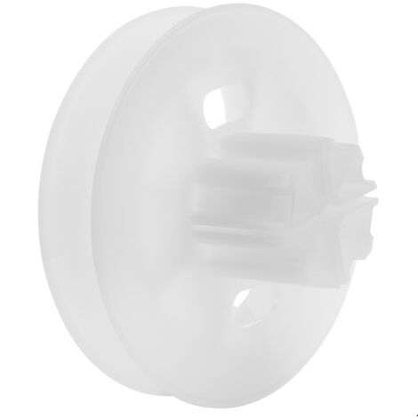PrimeMatik - Plastic pulley for blind axis 60 mm