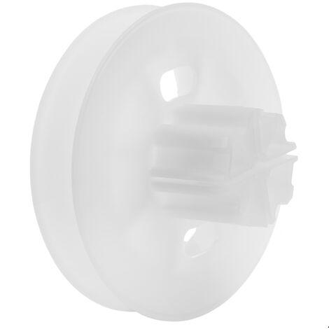 PrimeMatik - Polea de plástico para eje de persiana de 60mm
