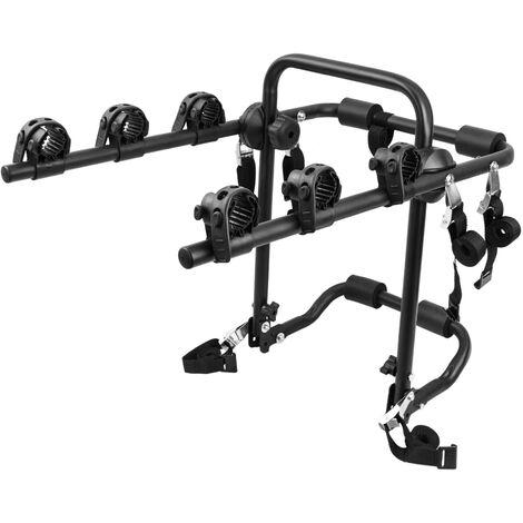 PrimeMatik - Porte-vélos pour la voiture arrière de 3 bicyclettes