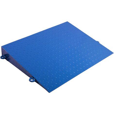 PrimeMatik - Rampa metálica para báscula industrial de suelo 80 cm