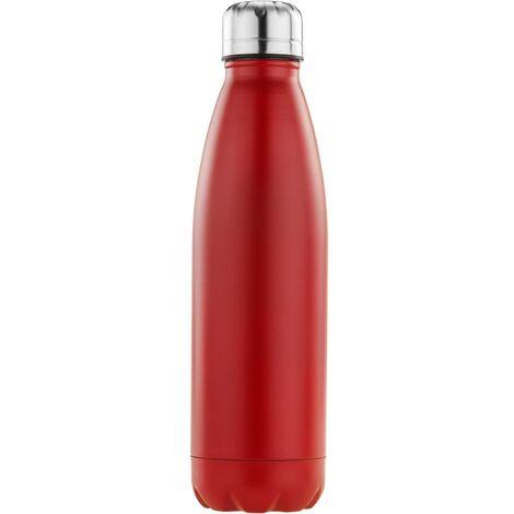 PrimeMatik - Red stainless steel bottle 720 ml