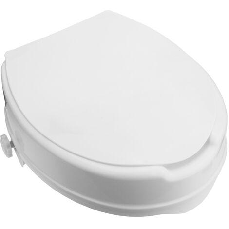 """main image of """"PrimeMatik - Rehausseur de toilettes pour WC avec couvercle pour adultes"""""""
