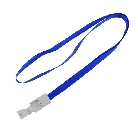 PrimeMatik - Ribbon for hanging ID card in neck navy blue