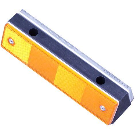 PrimeMatik - Road Reflector wall plastic 180x50x40mm