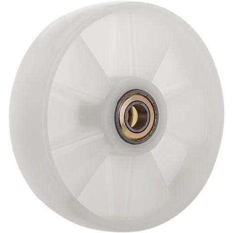 PrimeMatik - Roue pour transpalette Rouleau pour palette en nylon 200x50 mm 850 Kg