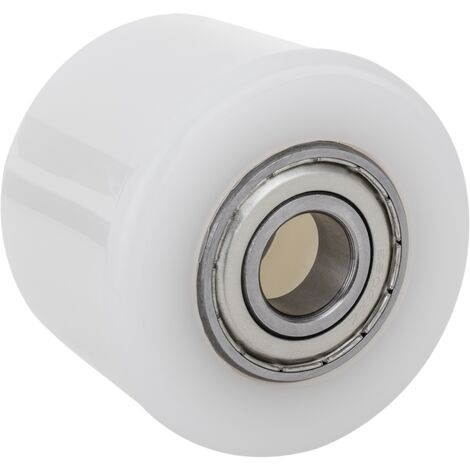 PrimeMatik - Rueda para transpaleta Rodillo de nailon de 80x60 mm 600 Kg