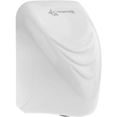 PrimeMatik - Secamanos eléctrico de pared. Secador de manos automático de aire caliente 850W