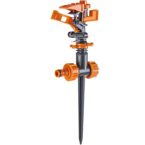 PrimeMatik - Sectoral lawn irrigation sprinkler with stake 20 ° -360 ° 400 m²